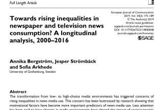 rising inequalities