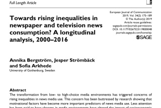 rising inequalities
